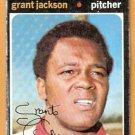 BALTIMORE ORIOLES GRANT JACKSON 1971 TOPPS # 392 fair/good