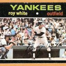 NEW YORK YANKEES ROY WHITE 1971 TOPPS # 395 EX