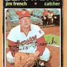 WASHINGTON SENATORS JIM FRENCH 1971 TOPPS # 399 good