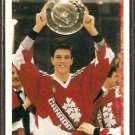TEAM CANADA PATRICE BRISEBOIS ROOKIE CARD RC 1990 UPPER DECK #454