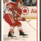 TEAM CANADA KENT MANDERVILLE ROOKIE CARD RC 1990 UPPER DECK #465
