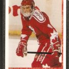 TEAM CANADA KARL DYKHUIS ROOKIE CARD RC 1990 UPPER DECK #471