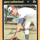 MONTREAL EXPOS GARY SUTHERLAND 1971 TOPPS # 434 EX