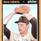 SAN DIEGO PADRES DAVE ROBERTS 1971 TOPPS # 448 good