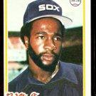 CHICAGO WHITE SOX JUNIOR MOORE 1978 TOPPS # 421 NM OC