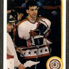 CHICAGO BLACKHAWKS CHRIS CHELIOS 1990 UPPER DECK # 491