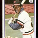 SAN FRANCISCO GIANTS VIC HARRIS 1978 TOPPS # 436 NM OC