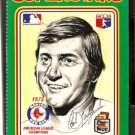 BOSTON RED SOX CARL YASTRZEMSKI YAZ 1976 LINNETT SUPERSTARS # 102