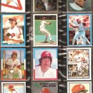 PHILADELPHIA PHILLIES 29 DIFF TOPPS STICKERS PETE ROSE MIKE SCHMIDT STEVE CARLTON BOWA TUG McGRAW ++