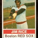 BOSTON RED SOX JIM RICE 1976 HOSTESS # 127