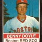 BOSTON RED SOX DENNY DOYLE 1976 HOSTESS # 107