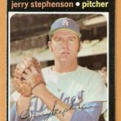 LOS ANGELES DODGERS JERRY STEPHENSON 1971 TOPPS # 488 G/VG