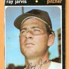 CALIFORNIA ANGELS RAY JARVIS 1971 TOPPS # 526 good