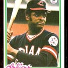 CLEVELAND INDIANS CHARLIE SPIKES 1978 TOPPS # 459 NM