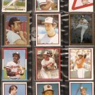 1981-84 BALTIMORE ORIOLES 21 DIFF TOPPS STICKERS CAL RIPKEN EDDIE MURRAY FRANK ROBINSON JIM PALMER +