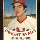 BOSTON RED SOX DWIGHT EVANS 1977 HOSTESS # 21
