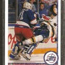 WINNIPEG JETS RICK TABARACCI ROOKIE CARD RC 1990 UPPER DECK # 520