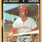 CINCINNATI REDS JIM STEWART 1971 TOPPS # 644 GOOD