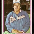 ATLANTA BRAVES RICK CAMP 1978 TOPPS # 349