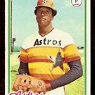 HOUSTON ASTROS J.R. RICHARD 1978 TOPPS # 470 VG