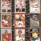 1981-83 CHICAGO WHITE SOX 17 DIFF TOPPS STICKERS BAINES LEMON LUZINSKI KEMP LeFLORE HOYT PACIOREK +