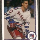 NEW YORK RANGERS RICK BENNETT ROOKIE CARD RC 1990 UPPER DECK # 540