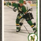 MINNESOTA NORTH STARS NEIL WILKINSON ROOKIE CARD RC 1990 UPPER DECK # 547