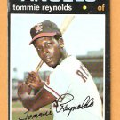 CALIFORNIA ANGELS TOMMIE REYNOLDS 1971 TOPPS # 676 good