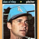 CHICAGO WHITE SOX DON O'RILEY 1971 TOPPS # 679 G/VG