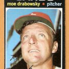 ST LOUIS CARDINALS MOE DRABOWSKY 1971 TOPPS # 685 EX MT