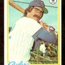 CHICAGO CUBS BILL BUCKNER 1978 TOPPS # 473 VG/EX