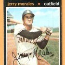 SAN DIEGO PADRES JERRY MORALES 1971 TOPPS # 696 good