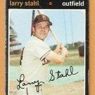 SAN DIEGO PADRES LARRY STAHL 1971 TOPPS SHORT PRINT # 711 good