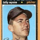 CALIFORNIA ANGELS BILLY WYNNE 1971 TOPPS # 718 EX