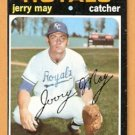 KANSAS CITY ROYALS JERRY MAY 1971 TOPPS SHORT PRINT # 719 EM/NM