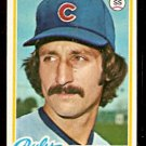 CHICAGO CUBS RUDY MEOLI 1978 TOPPS # 489 EM/NM