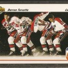 DARREN TURCOTTE TEAM CANADA CUP 1991 UPPER DECK # 513