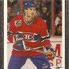 MONTREAL CANADIENS KIRK MULLER 1991 UPPER DECK # 519