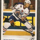 EDMONTON OILERS LUKE RICHARDSON 1991 UPPER DECK # 522