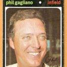 BOSTON RED SOX PHIL GAGLIANO 1971 TOPPS # 302 good