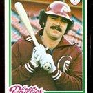 PHILADELPHIA PHILLIES BARRY FOOTE 1978 TOPPS # 513 EX/EM
