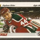 NEW JERSEY DEVILS STEPHANE RICHER 1991 UPPER DECK # 536