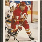 CALGARY FLAMES MARK OSIECKI ROOKIE CARD RC 1991 UPPER DECK # 533