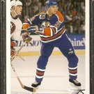 EDMONTON OILERS LOUIE DeBRUSK ROOKIE CARD RC 1991 UPPER DECK # 526