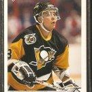PITTSBURGH PENGUINS KEN PRIESTLAY ROOKIE CARD RC 1991 UPPER DECK # 525