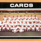 ST LOUIS CARDINALS TEAM CARD 1971 TOPPS # 308 EM/NM