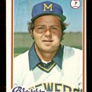 MILWAUKEE BREWERS GARY BEARE 1978 TOPPS # 516 EX+ OC