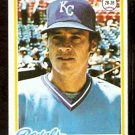 KANSAS CITY ROYALS JERRY TERRELL 1978 TOPPS # 525 EX