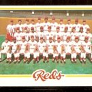 CINCINNATI REDS TEAM CARD 1978 TOPPS # 526 EM/NM marked checklist