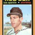 BOSTON RED SOX LUIS APARICIO 1971 TOPPS SHORT PRINT SP # 740 EM/NM